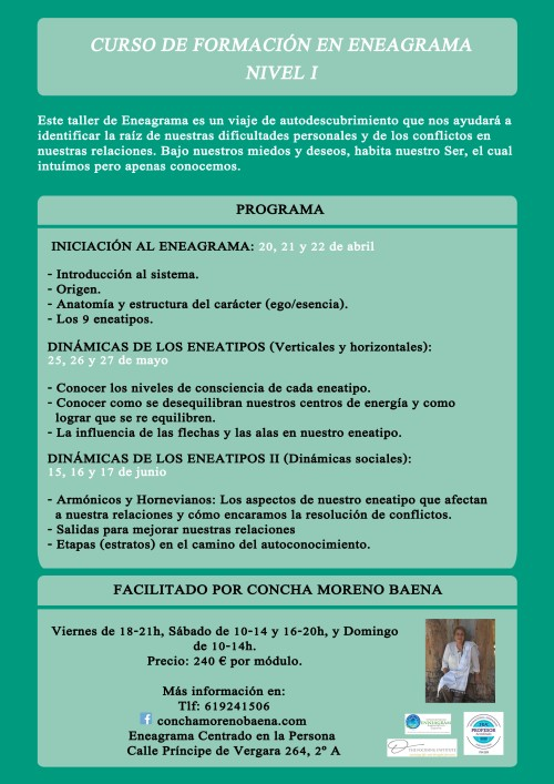cartel curso nivel 1